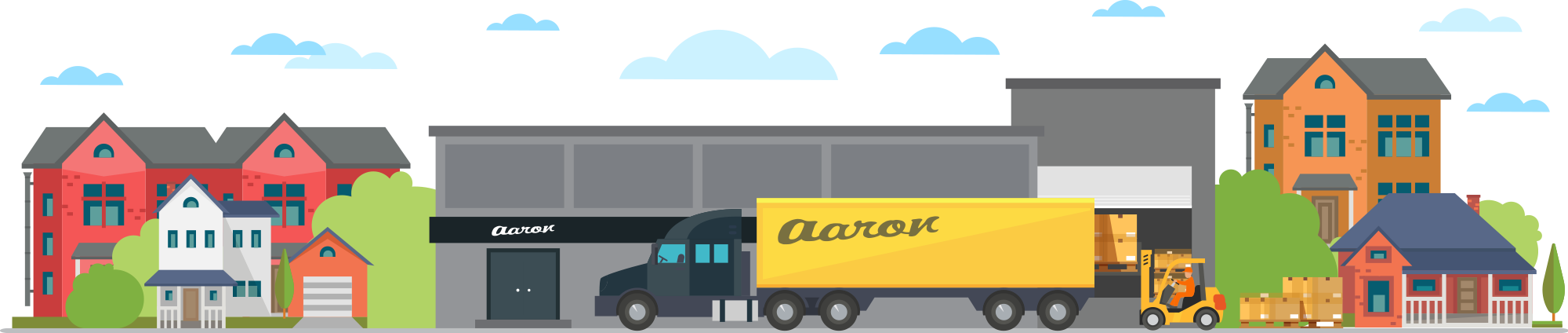 aron Transportation is always looking for ambitions flatbed drivers and operators with their own authority.
